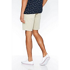 QUIZMAN - Stone stretch slim fit shorts