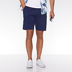 QUIZMAN - Petrol blue stretch slim fit shorts
