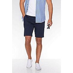 QUIZMAN - Navy stretch slim fit shorts