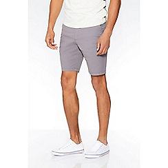 QUIZMAN - Alex's grey stretch silm fit shorts