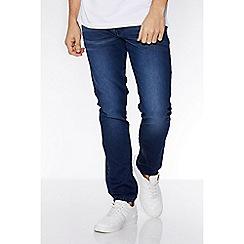 QUIZMAN - Blue stretch slim fit denim jeans