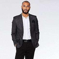 QUIZMAN - Grey check slim fit blazer