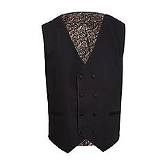 QUIZMAN - Black slim fit suit waistcoat