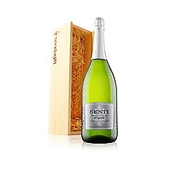 Virgin Wines - Senti Prosecco Extra Dry Magnum in wooden gift box