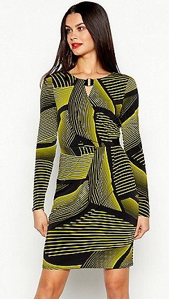 38aa47ff4c Long sleeves - black - Wrap dresses - Dresses - Women
