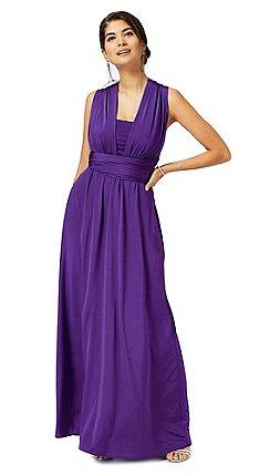 Debut Purple Multiway Evening Dress