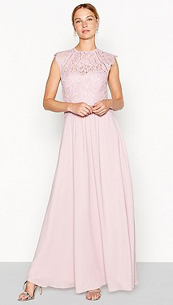 Debut Rose Olivia Lace Maxi Dress
