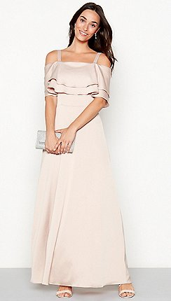 Debut Rose Cacey Cold Shoulder Maxi Dress