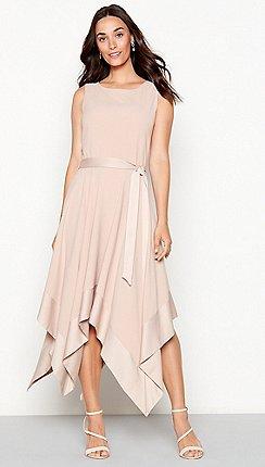 Debut Rose Hayley Hanky Hem Dress
