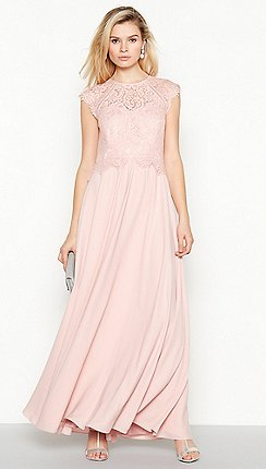 Debut - Rose  Olivia  Floral Lace Maxi Dress 269ca73c5a34