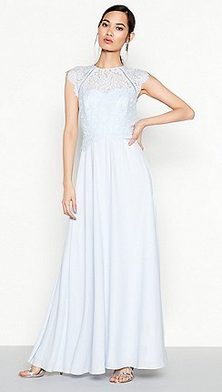 Debut - Blue Lace  Olivia  Maxi Dress f30cb410c486