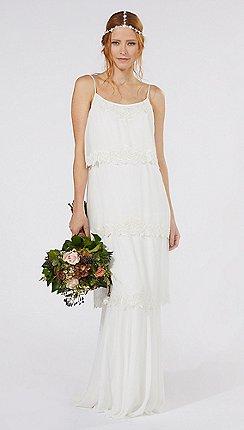 Nine By Savannah Miller Ivory Tilly Wedding Dress
