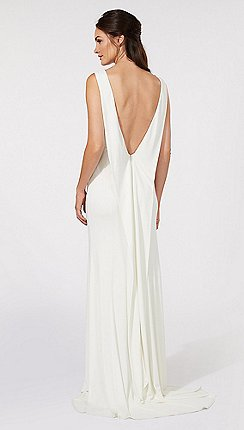 Ben De Lisi Occasion Ivory Jersey Bridal Dress