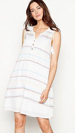 0e4eb13a636 Short - white - Shift dresses - Dresses - Women
