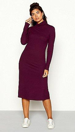 ca67f07e6cccc purple - Bodycon dresses - Red Herring - Dresses - Sale   Debenhams