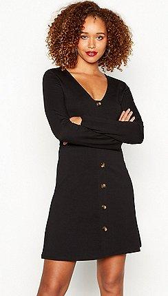 Black Friday - Red Herring clothing - black - Shirt dresses ... adfada2630f3