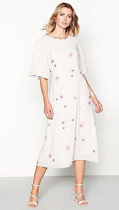 92de18f1985 RJR.John Rocha - Mauve floral print chiffon midi dress