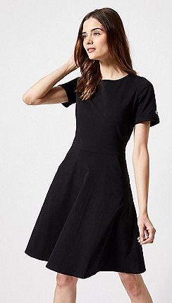 Dorothy Perkins - Black Short Sleeve T-Shirt Dress be71953c1ff9