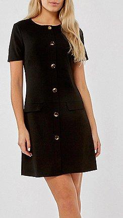 8f15068ed25 black - Shift dresses - Dorothy Perkins - Dresses - Women