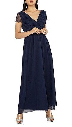 2fc855e829 Dorothy Perkins - Showcase petite navy athena maxi dress
