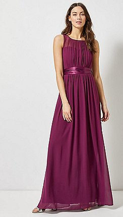 Dorothy Perkins - Showcase Purple Natalie Maxi Dress 2aa5db85c8f4