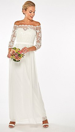 48f8a723288bf7 white - View all occasions - Lace dresses - Dresses - Women