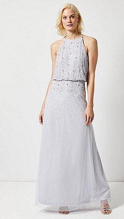 14f74bdd896 Dorothy Perkins - Showcase Tall Blue Ava Maxi Dress