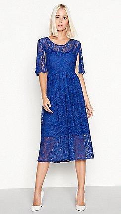 Midi Blue Prom Dresses Sale Debenhams