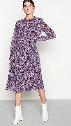 761a08ebb293 Long sleeves - purple - Shift dresses - Dresses - Sale