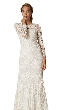 Cream Wedding Dresses | Debenhams