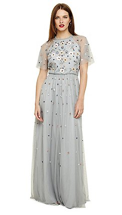 8eb29d5527a Phase Eight - Blue celestra embellished dress