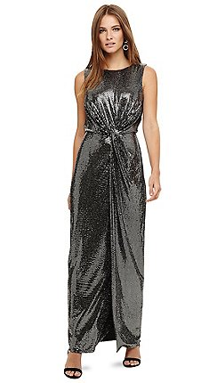 b0ef19c6525 Sleeveless - metallic - Maxi dresses - Dresses - Women