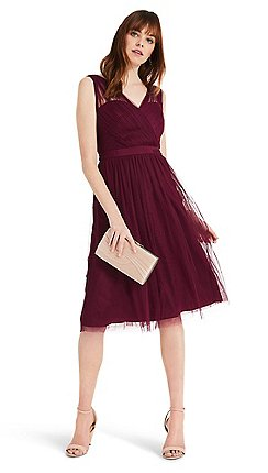 Purple Dresses For Wedding | Purple Wedding Guest Dresses Debenhams