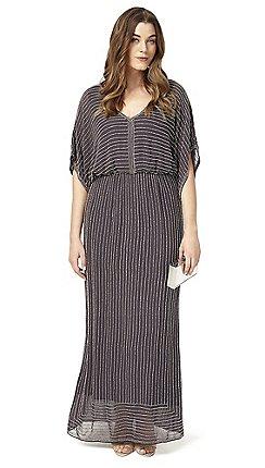63af21f790dfe Plus-size - grey - Maxi dresses - Dresses - Sale