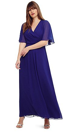 Studio 8 Size 12 26 Cobalt Opal Maxi Dress