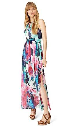 f8530b57081 Damsel in a dress - Multicoloured amazon print maxi dress