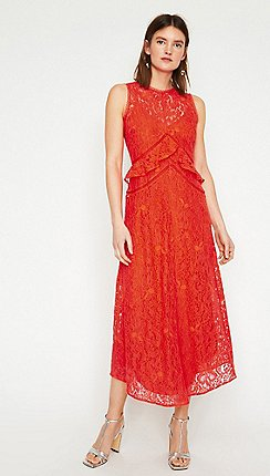 f63fe1378524 green - Lace dresses - Warehouse - Dresses - Women