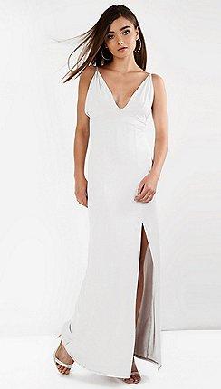 White maxi dresses debenhams amalie amber white bodycon dress mightylinksfo