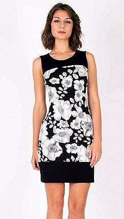 9edc0fedc8792 Anna Field - Black floral print sleeveless dress