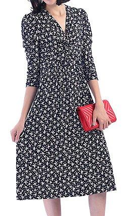 9d3e73bcbf8 3 4 sleeves - Midi - Jolie Moi - Dresses - Women