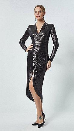 02e70152f54 silver - View all occasions - Wrap dresses - Dresses - Women