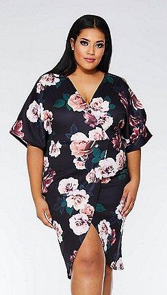 Plus-size - black - Quiz - Dresses - Sale  74597695e