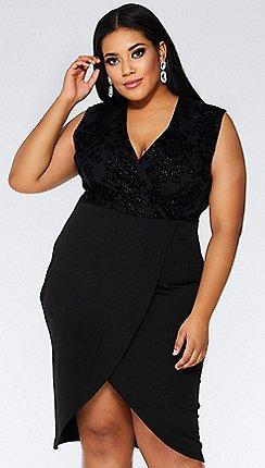 Plus-size - Wrap dresses - Quiz - Dresses - Women  5240f7a21