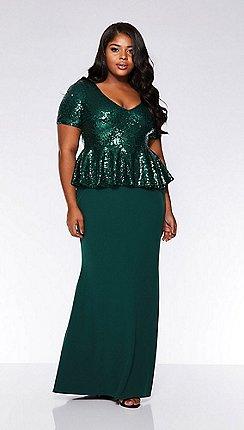 4bebdf7db37 Plus-size - green - Sequin dresses - Dresses - Sale