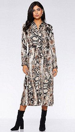 a439b4c630d3 Long sleeves - Shirt dresses - Quiz - Dresses - Women   Debenhams