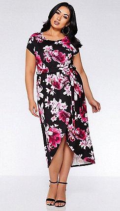 f7983204f3 Short sleeves - Plus-size - Quiz - Dresses - Women
