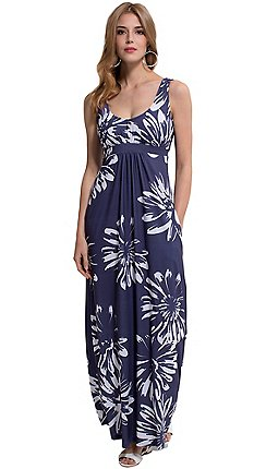 HotSquash - Empire line maxi dress in coolfresh fabric 4df78d8192