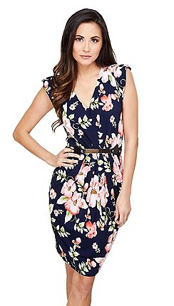 Awesome dresses for weddings guests contemporary styles for Black floral dress to a wedding