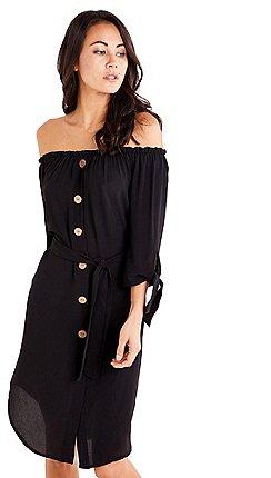 258bb033c39 3 4 sleeves - Knee length - Mela London - Dresses - Women