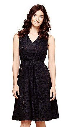 0472f206563e black - Prom - Skater dresses - Dresses - Women